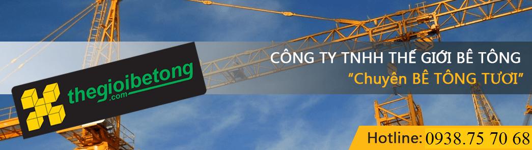 Bê tông tươi – Bê tông thương phẩm Tphcm 2018