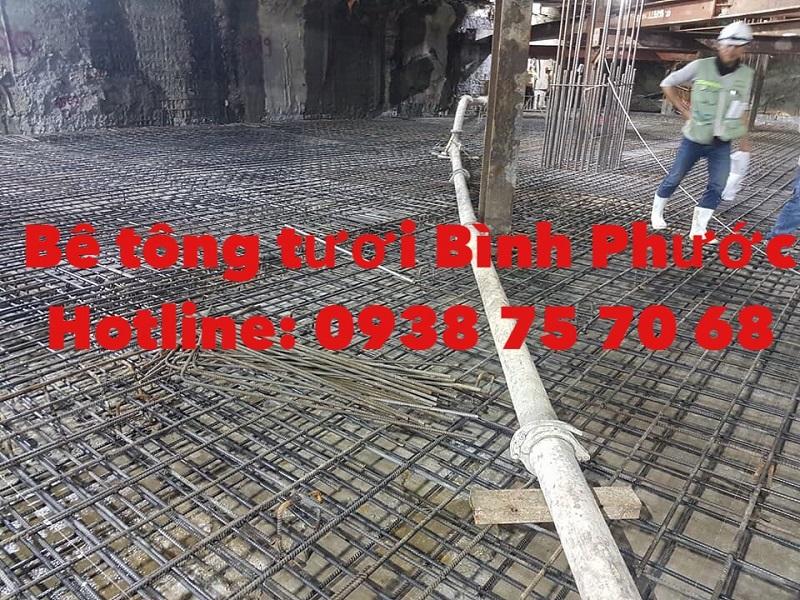 Cung cấp bê tông tươi tại Bình Phước