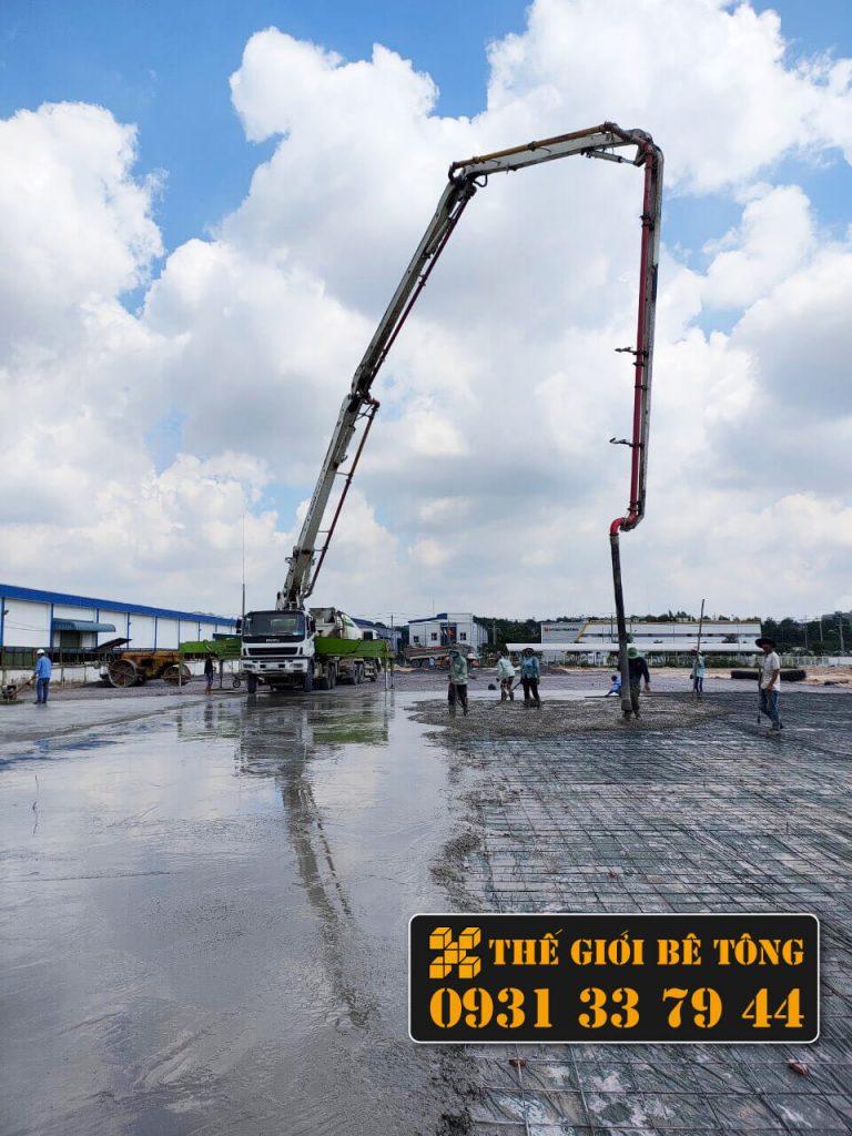Bê tông tươi Bình Phước 2021