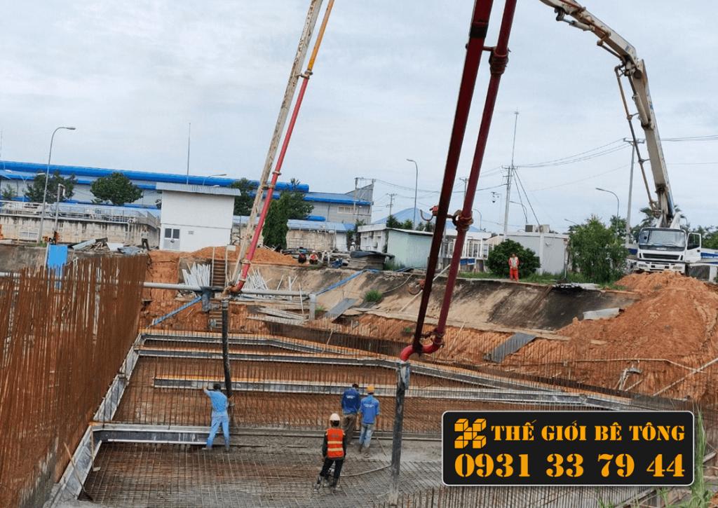 Giá bê tông tươi tại Long An 2021