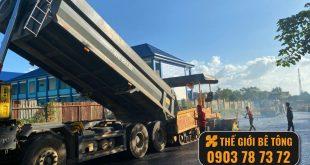 giá thi công bê tông nhựa nóng tại Vũng Tàu